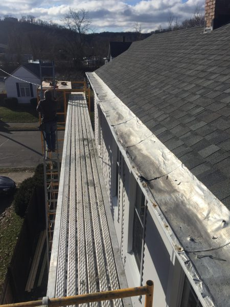 Box gutter repair and installation fusion roofing for Leaking roof gutter