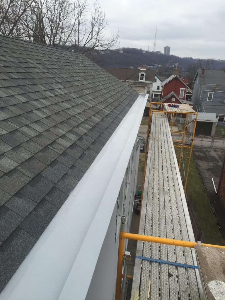 Failing Box Gutter Fusion Roofing