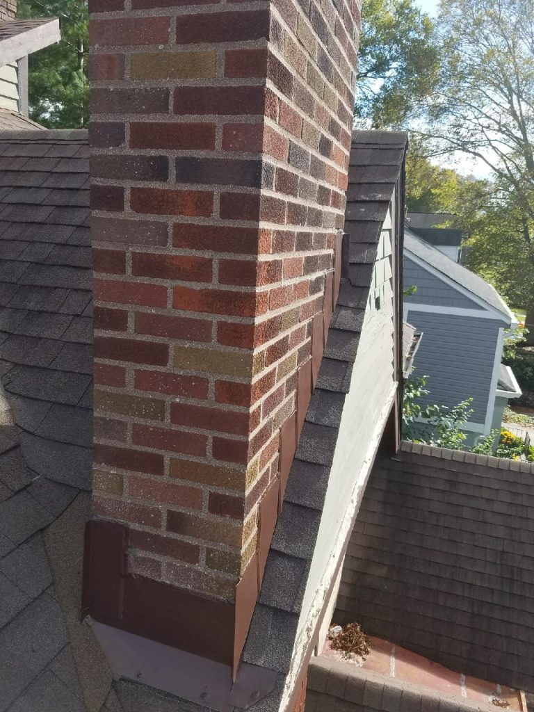 Chimney Stack Removal Fusion Roofing