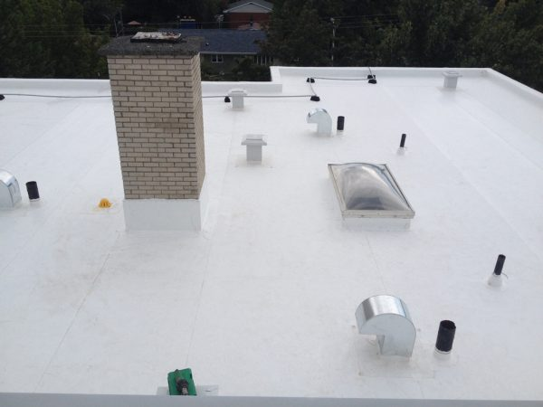 Flat Roof Membranes Tpo Vs Epdm Fusion Roofing